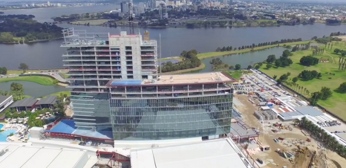 Crown Towers - Perth Australia - Arial Video